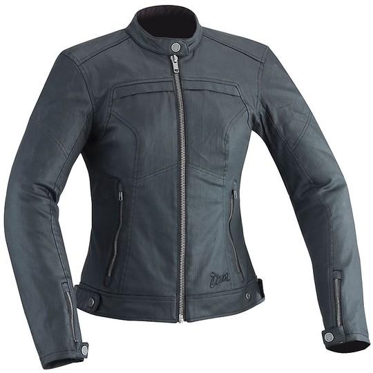 Veste moto femme en tissu Ixon 2017 SUBURB LADY Noir
