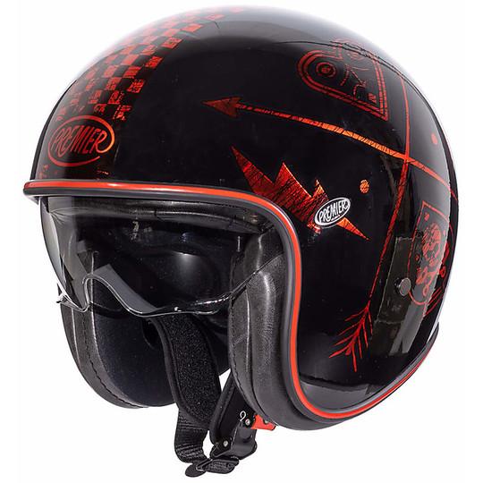 XS-S-M-L-XL Casco JET Premier Helmets VINTAGE SK9 BM