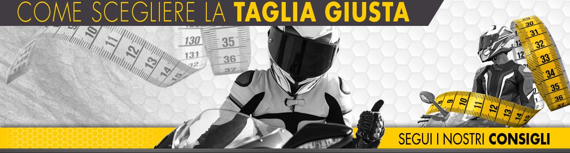 Come scegliere la taglia giusta per il tuo nuovo abbigliamento moto -  Outletmoto.eu 59a19f5767ac